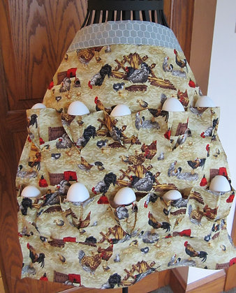 Chicken Coop - Egg Gathering Apron