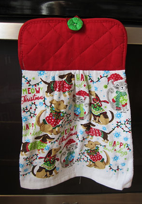 Happy Howlidays Towel