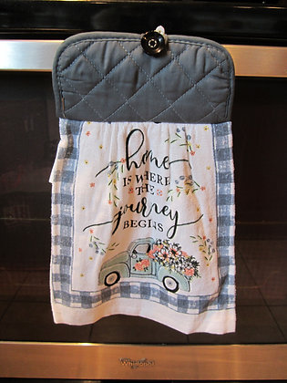 Where Your Journey Begins - Towel