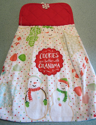 Better with Grandma Towel