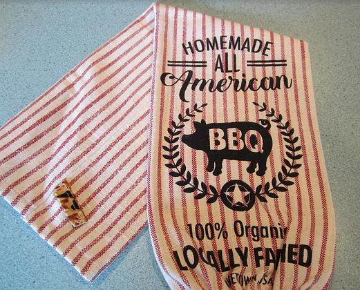 American BBQ Plastic Bag Storage Chute