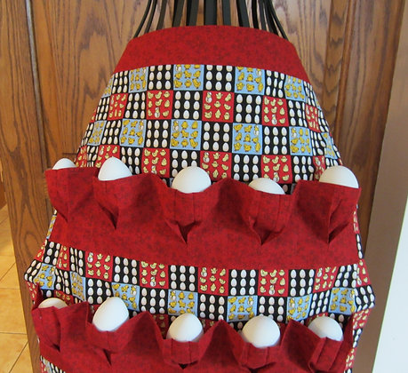 Chicken Egg Block - Egg Gathering Apron