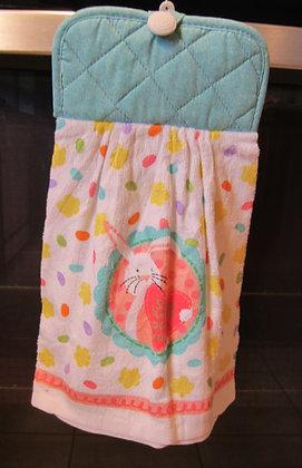 Bunny Heart (Turq)  - Towel