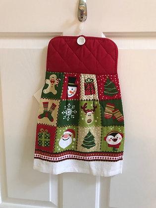 Christmas Block - Towel