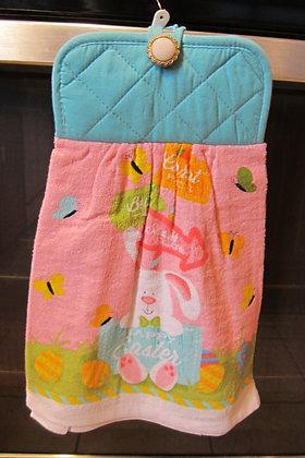 Easter Bunny (Turq)  - Towel