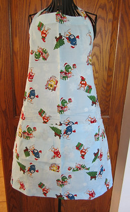 M & M Christmas - Chef Apron