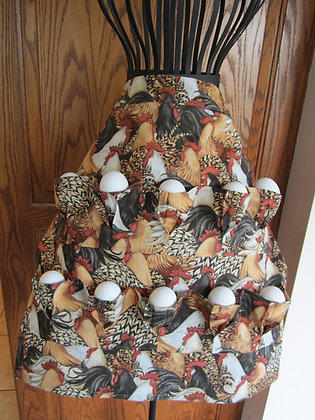 Packed Chickens - Egg Gathering Apron