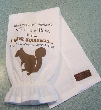 I have Squirrels Plastic Bag Storage Chute