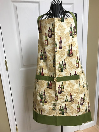 Wine Bottles - Wideband Chef Apron