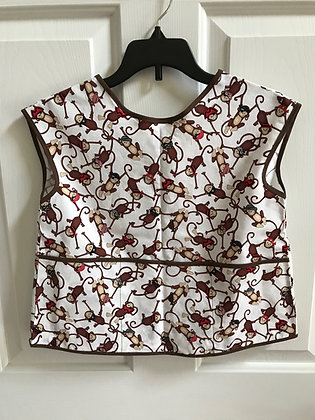 Pirate Monkeys - Painter Style Apron