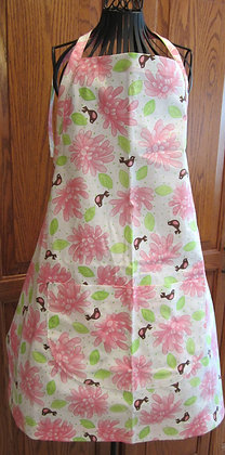 Little Birds with Flowers - Chef Apron