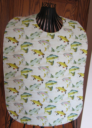 Wide Mouth Fish - Adult Clothing Protector