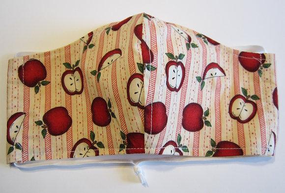 Apple Stripe Mask
