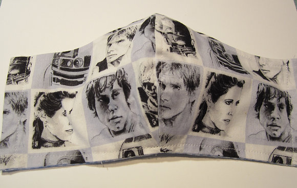 Star Wars Faces Mask