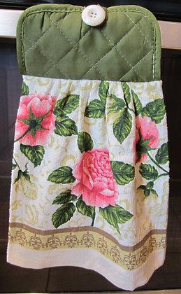 Pink Roses - Towel