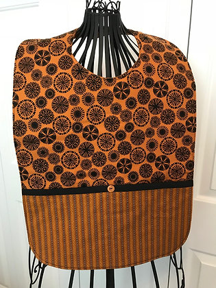 Maize and Black - Adult Clothing Protector