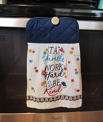 Be Kind (Navy) - Towel