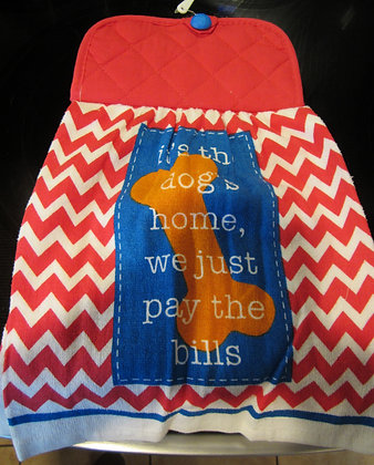 The Dog's Home- Towel