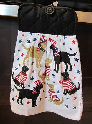 Patriotic Pups - Towel