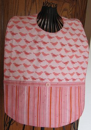 Bird Stripe - Adult Clothing Protector