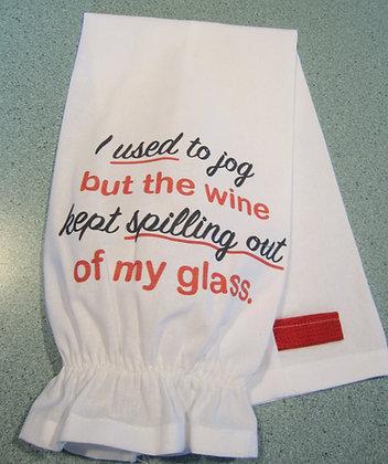 I Used to Jog Plastic Bag Storage Chute