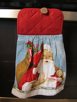 Old Fashion Santa Towel