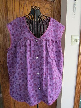 Purple Dots - Women's Cobbler Apron