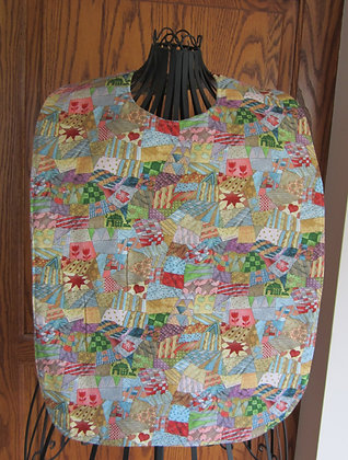 Crazy Quilt - Adult Clothing Protector