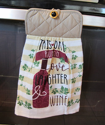 Laughter and Wine - Towel