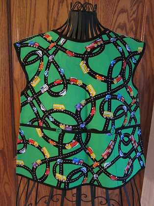 Green Roadway - Painter Style Apron