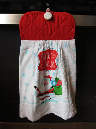 Holly Jolly Towel