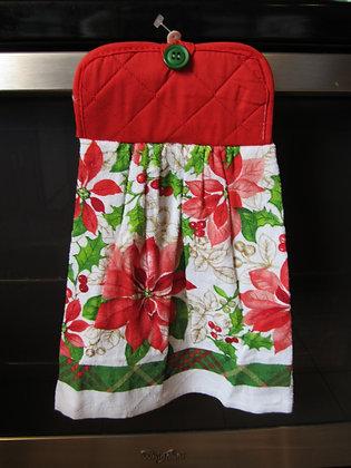 Classic Poinsettia Towel