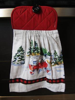 Christmas Camper Towel