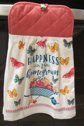 Homegrown Happiness - Towel
