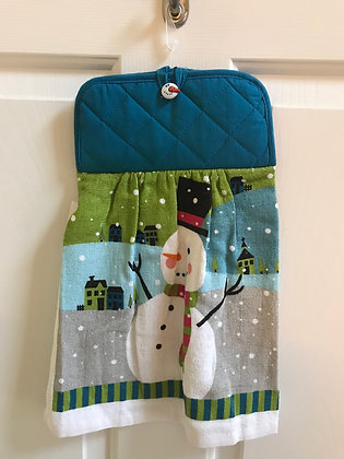 Snowman Village - Towel