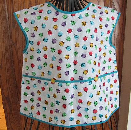 Bright Ladybugs - Painter Style Apron
