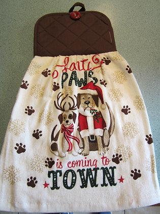Santa Paws Towel