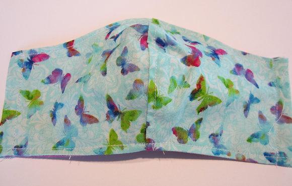 Soft Butterflies Mask