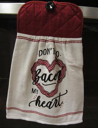 Bacon my Heart - Towel