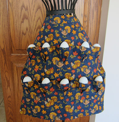 Feather-tailed Chickens - Egg Gathering Apron