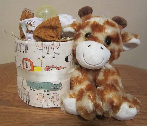 Giraffe of Zebra - Baby Cake