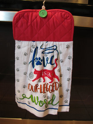 Love is a Four Legged Word - Towel