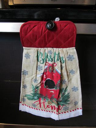 Birdhouse Blessing Towel