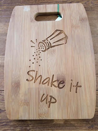 Shake It Up Cutting Board