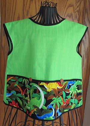 Dinos - Painter Style Apron