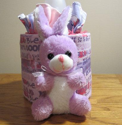 Lavender Bunny - Baby Cake
