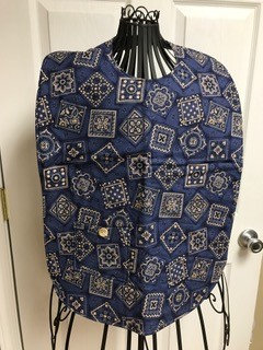 Bandana Faded - Adult Clothing Protector