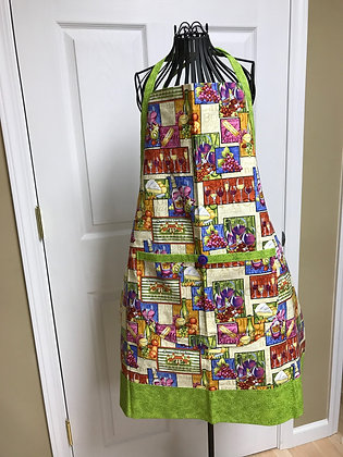 Wine and Cheese - Wideband Chef Apron
