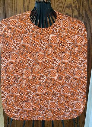 Orange Bandana - Adult Clothing Protector