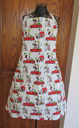 Peanuts Gang Red Truck - Chef Apron